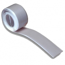 Flat cable 25 IDC conductors, gray, 1.27 pitch