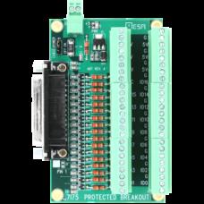 MESA 7i75 Breakout/FPGA protection card
