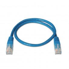 Network Cable RJ45 Cat5e U/UTP Blue (2m)
