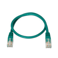 Network Cable RJ45 Cat5e U/UTP Green (1m)